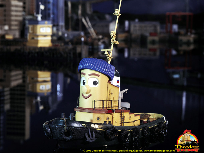 Hank Theodore Tugboat At Scratchpad The Home Of
