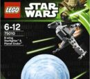 75010 B-Wing Starfighter and Planet Endor