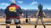 Kyoya e Benkei vs Johannes e Motti
