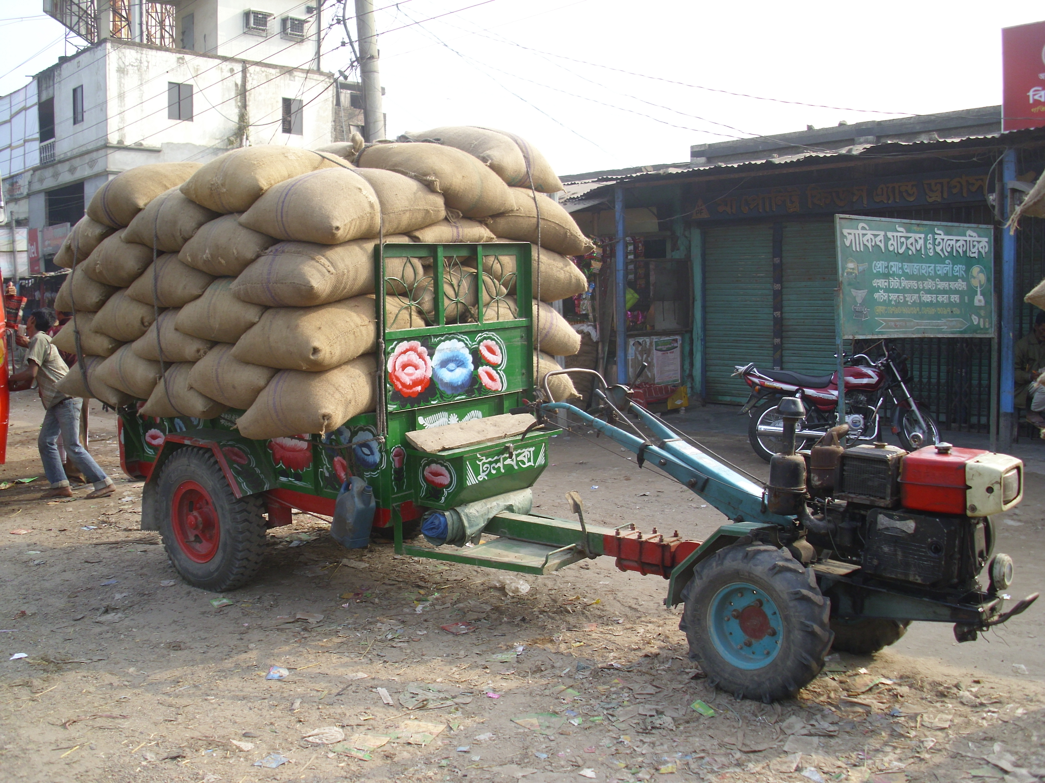 To Two Wheel Tractor Rototiller : Two wheeled tractors tractor construction plant wiki