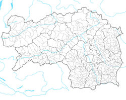 Styria location map