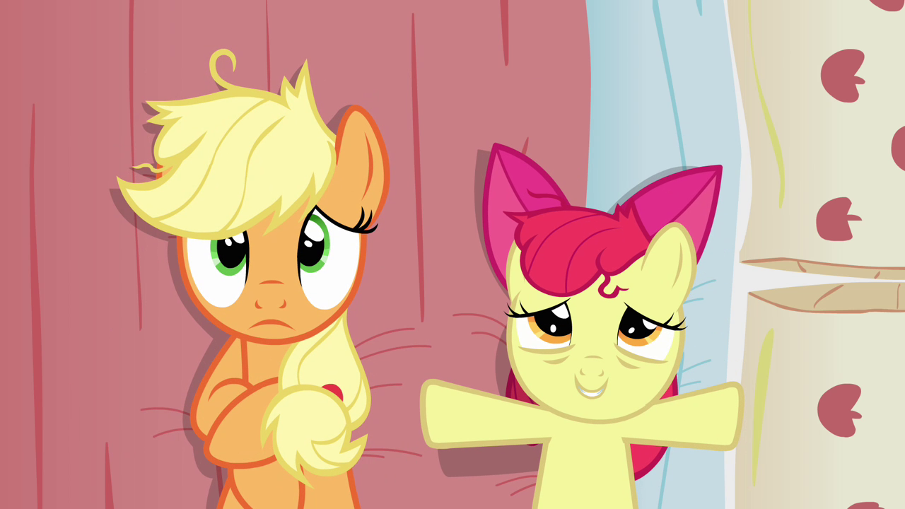 http://img1.wikia.nocookie.net/__cb20121222151037/mlp/images/9/9c/Apple_Bloom_lays_down_on_Applejack%27s_bed_S3E08.png