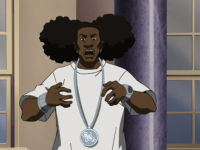 Swag Wallpaper further Swaggalicious in addition Boondocks Wallpaper together with 526358275177355869 also 72536 Hit Them Folks. on boondocks hit dem folks cartoon