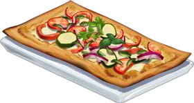 Recipe-Veggie Flatbread