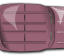Scrapped Pink Truck