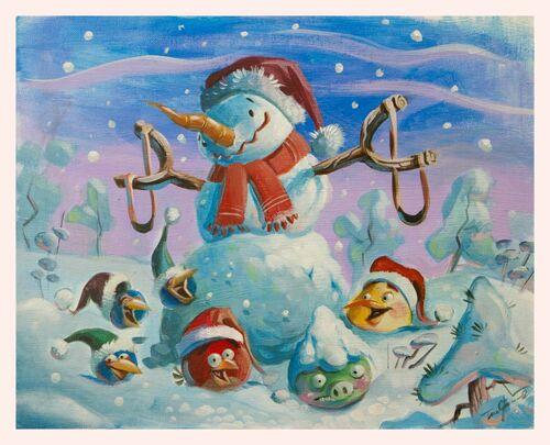 Usuario blog vic201401 feliz navidad y proyectos para el 2013 angry birds wiki - Angry birds noel ...
