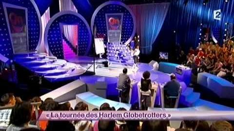 La tournée des Harlem Globetrotters