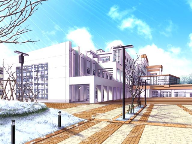 Anime School Front Yuichi's high school Anime School Front