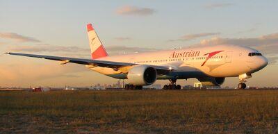 Boeing 777-200ER Austrian SYD