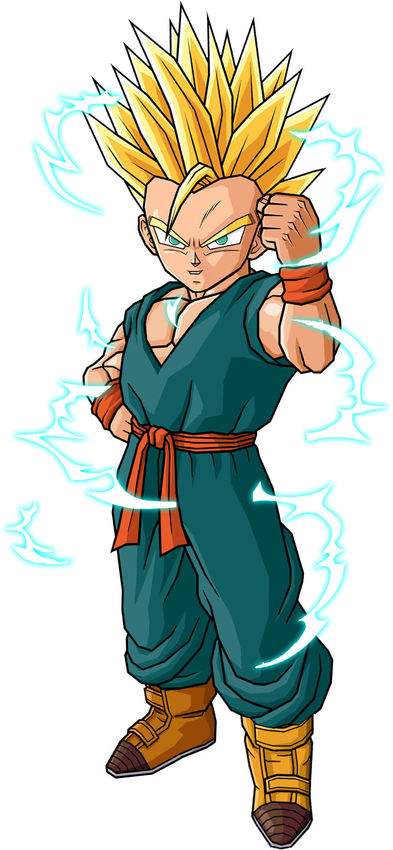 Kid Trunks Ssj Vector Renderextraction Png By