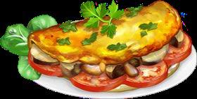 Recipe-Veggie Omelette