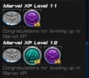 Marvel XP Rewards