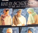 Leisure Arts 686 Hat & Scarf Sets to Knit and Crochet