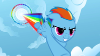 Rainbow Dash performing Sonic Rainboom S01E16