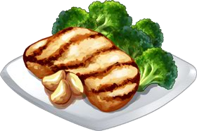 Recipe-Grilled Chicken and Veggies