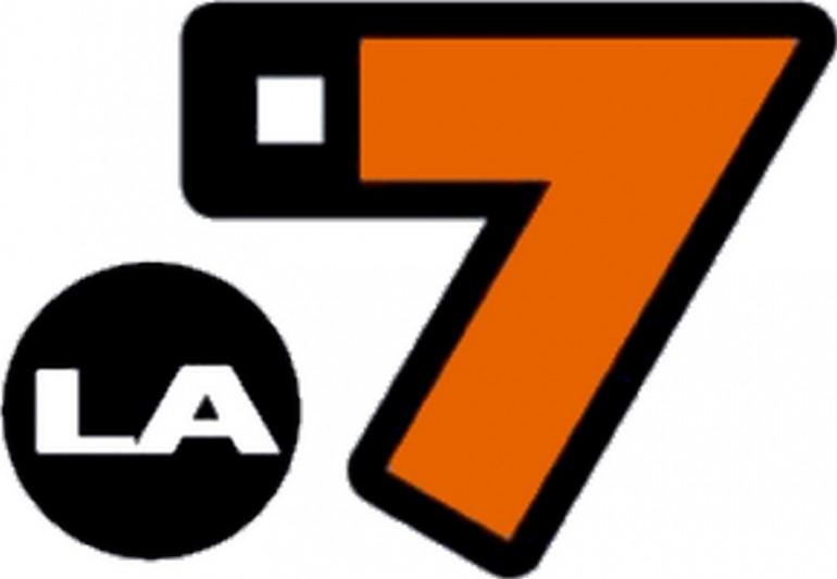 La 7 - Logopedia, the logo and branding ...