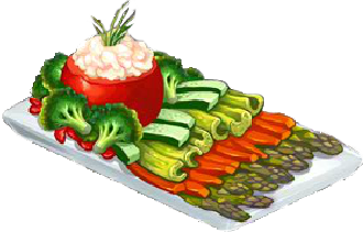 Recipe-Fresh Veggie Tray