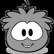 Puffle Hat swingbattabattahat grey puffle