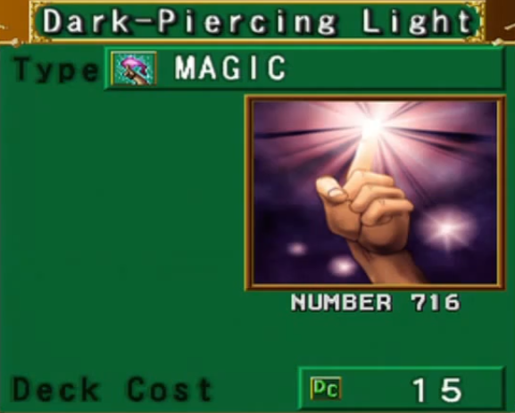 Dark Piercing Light