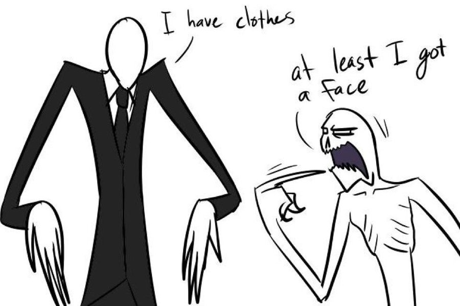 Creepypasta The Rake File:slender man vs the rake