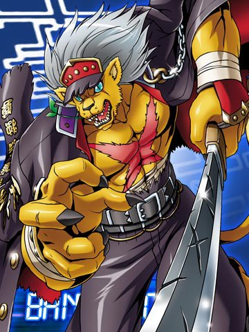 Digimon Photos~ BanchoLeomon_Collectors_Card2