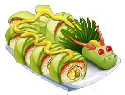 Recipe-Dragon Roll