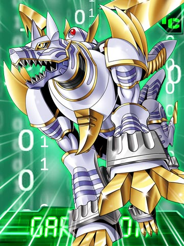 Imagen - Garummon collectors card.jpg - Digimon Wiki