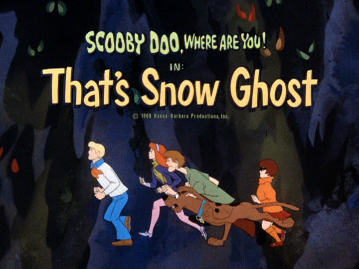 That S Snow Ghost Scoobypedia The Scooby Doo Wiki