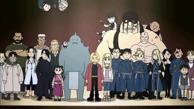 Fullmetal Alchemist: Brotherhood 4-Koma Theater - Voice Acting Wiki