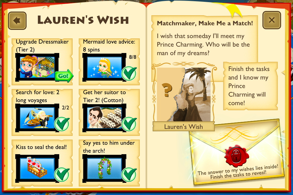 Wish Book Tap Paradise Cove Wiki