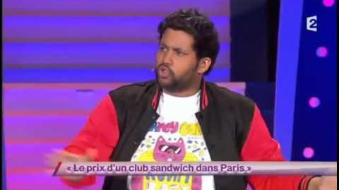 Le prix d'un club sandwich dans Paris