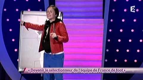 Devenir le sélectionneur de l'équipe de France de foot