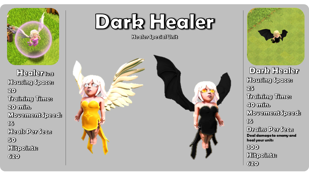 Image - DarkHealer-poster.png - Clash of Clans Wiki