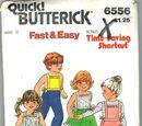 Butterick 6556 A