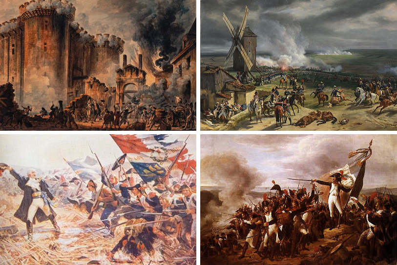 a history of the french revolutionary wars in the period between 1787 and 1802 French revolutionary wars timeline - year 1797 battles and events that followed the outbreak of the french revolution and preceded the napoleonic wars.