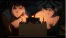 Yoruichi y Kisuke celebrando sus cumpleaños.png