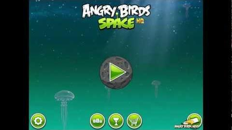 Angry Birds Space First Look at Power-ups Flock of Birds, Space Eggs, Pig Puffers