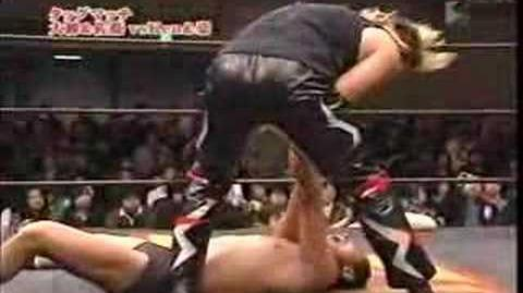 Go and Ken45° vs. Kinya Oyanagei and Yuki Sato