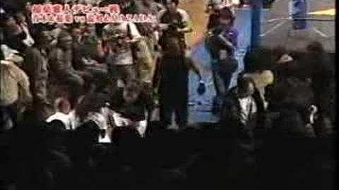 Masahito Inabe and Spark Aoki vs. MAZADA and NOSAWA Rongai