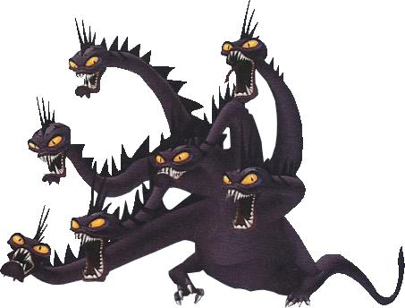 Kingdom Hearts IIHydra Hercules Gif