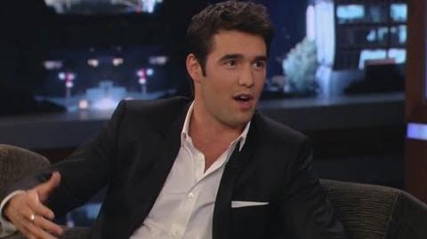 Josh Bowman on Jimmy Kimmel Live PART 2