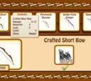 Crafted Short Bow