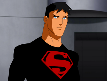CW's Young Justice Fan Cast Young Justice Superboy Wallpaper