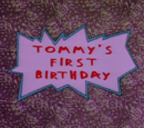 Tommy's First Birthday