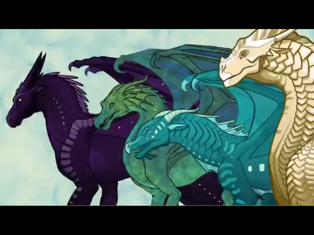 Image - The dragonets.jpg - Wings of Fire Wiki