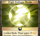 High Voltage Mode