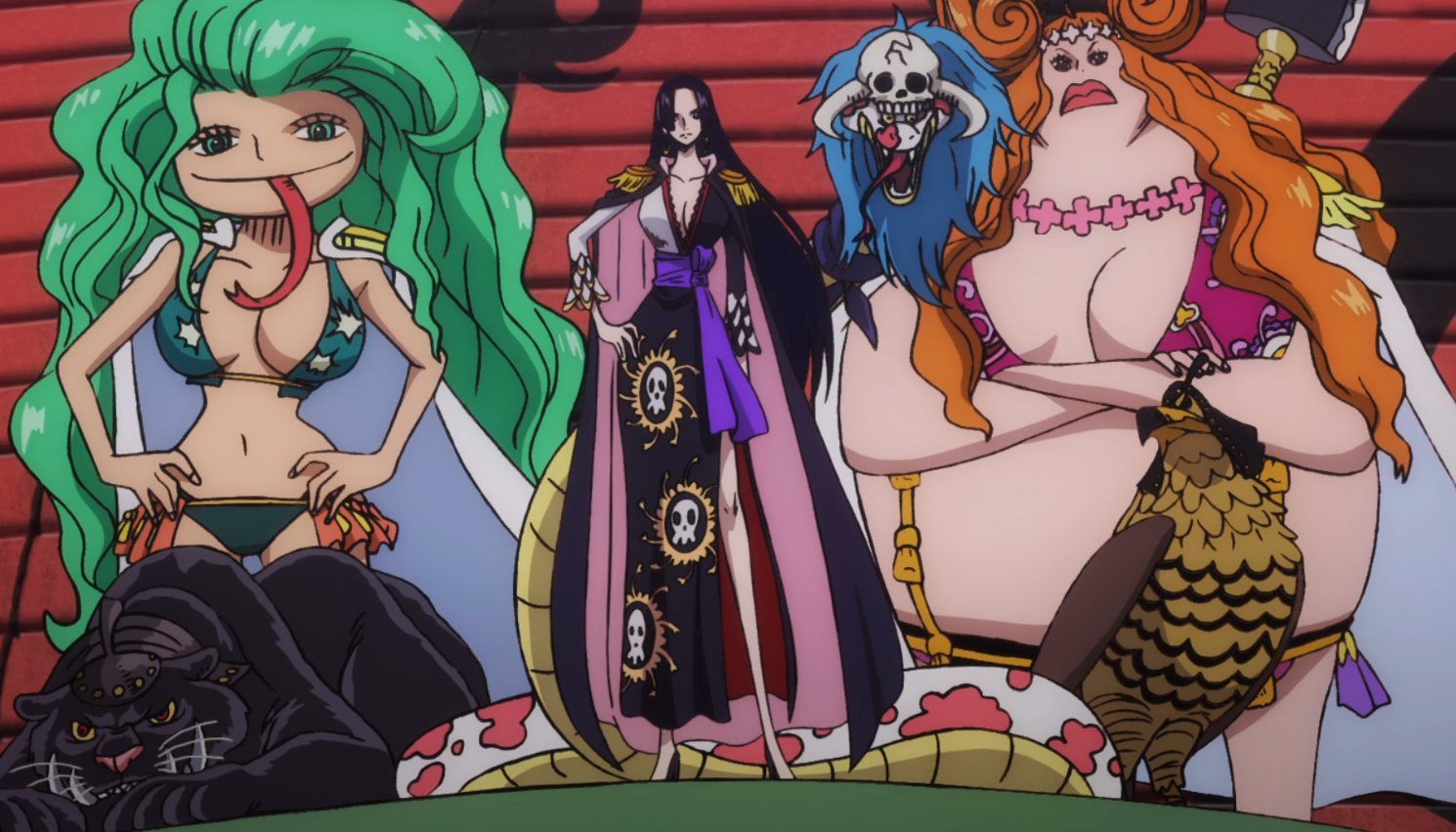 Gorgon Sisters One Piece Encyclopedia Wikia