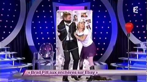 Brad Pitt aux enchères sur Ebay
