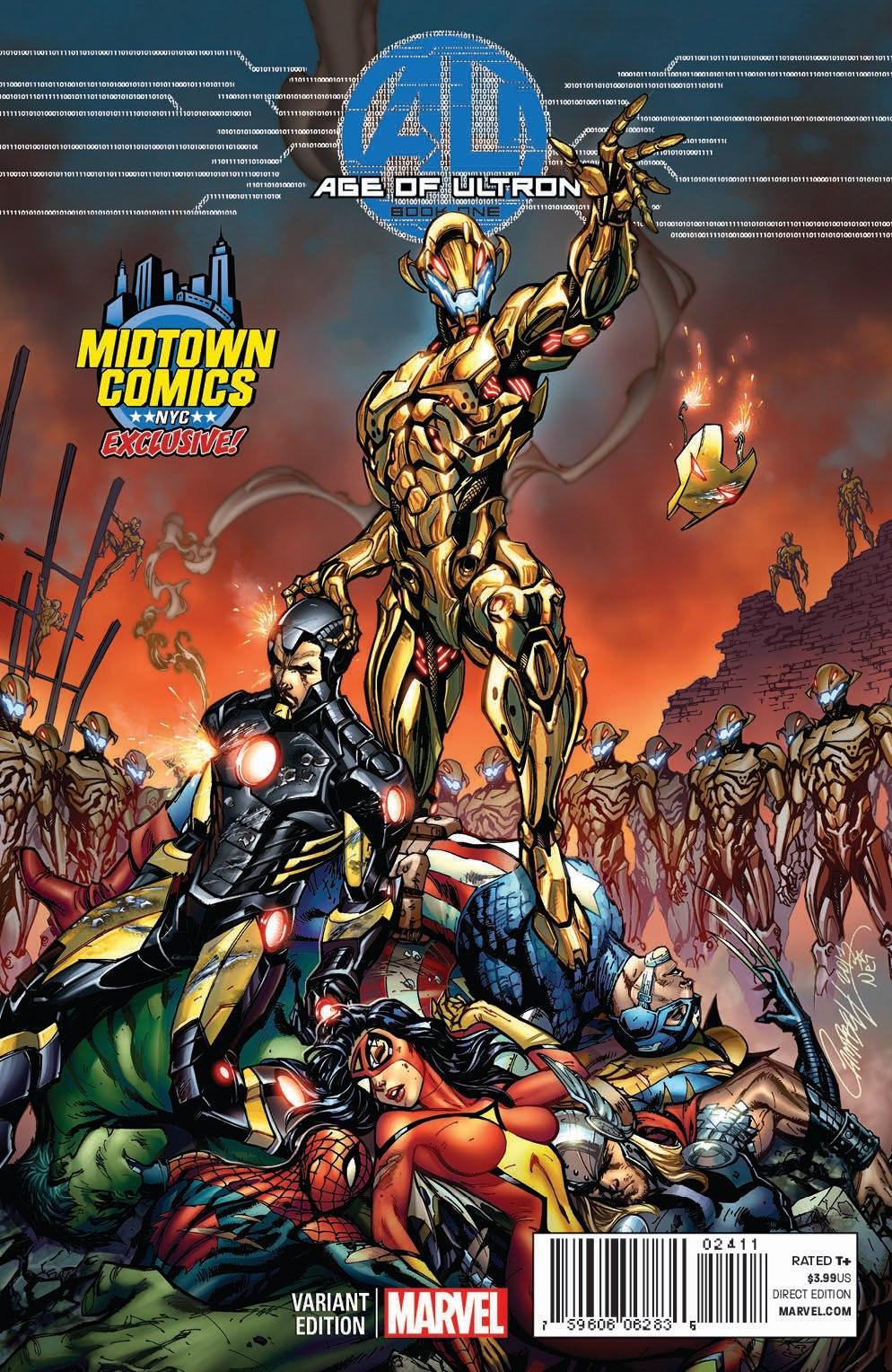 Campbell Midtown Comics