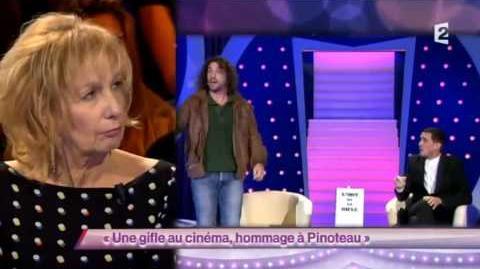Une gifle au cinéma, hommage à Pinoteau